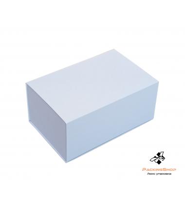 Коробка с крышкой на магните под чайную пару, белая.