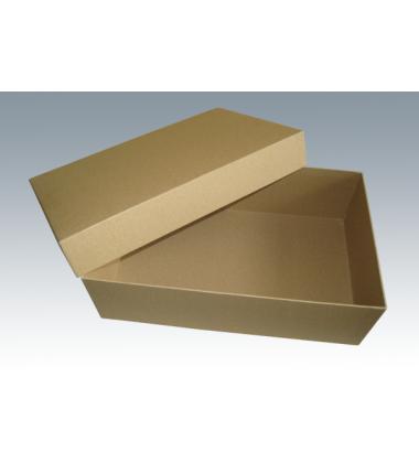 Коробка крышка дно крафт