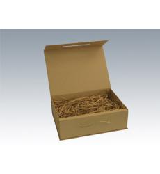 Коробка крафт с ручкой 39*26,5*12 см