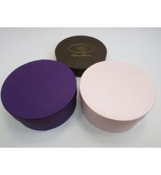 Круглые коробки D25