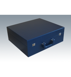 Коробка чемодан синий 62*48,5*10 см