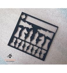 Ложемент Эва черная в футляр для шахмат